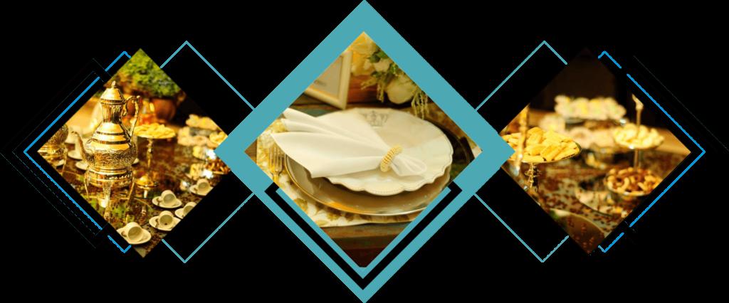 Pratos, eventos e mesas do Buffet da Corte em Brasília DF