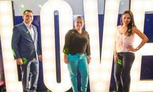 Foto da equipe e diretoria do Buffet da Corte com o Antônio Luiz, Melissa Acosta e Tacyara